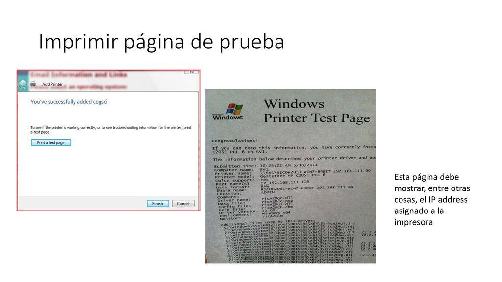 Cómo asignar un IP Address a una impresora - ppt descargar