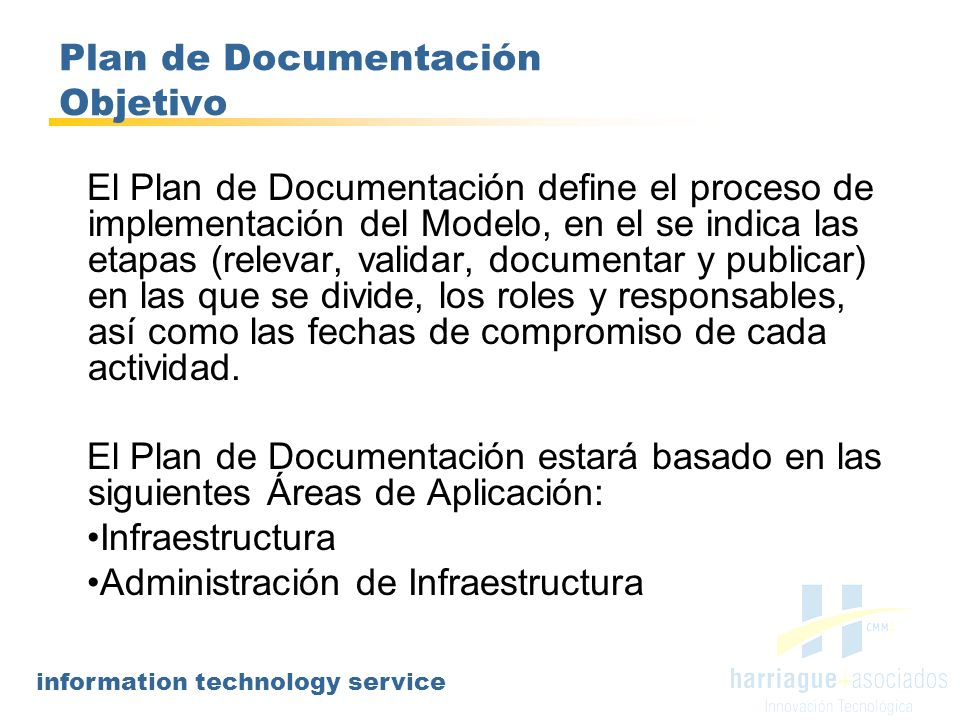 Plan de Documentación Objetivo