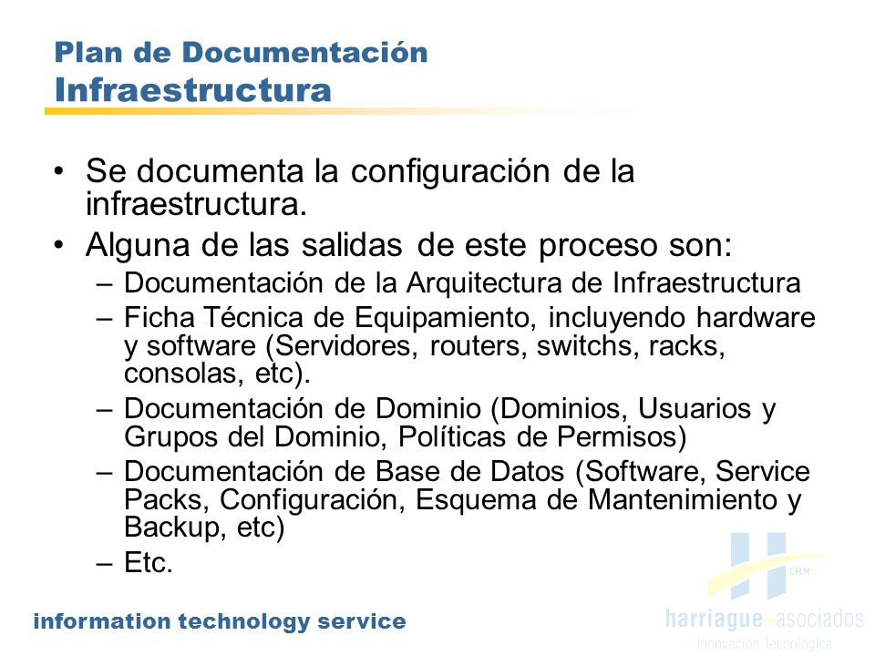 Plan de Documentación Infraestructura
