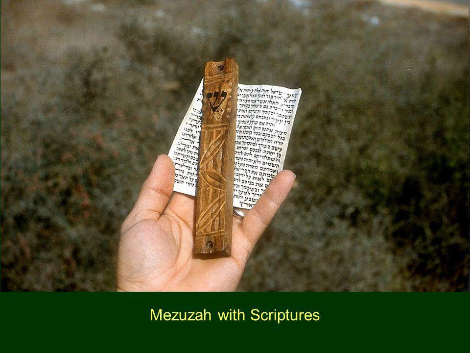 Mezuzah with Scriptures