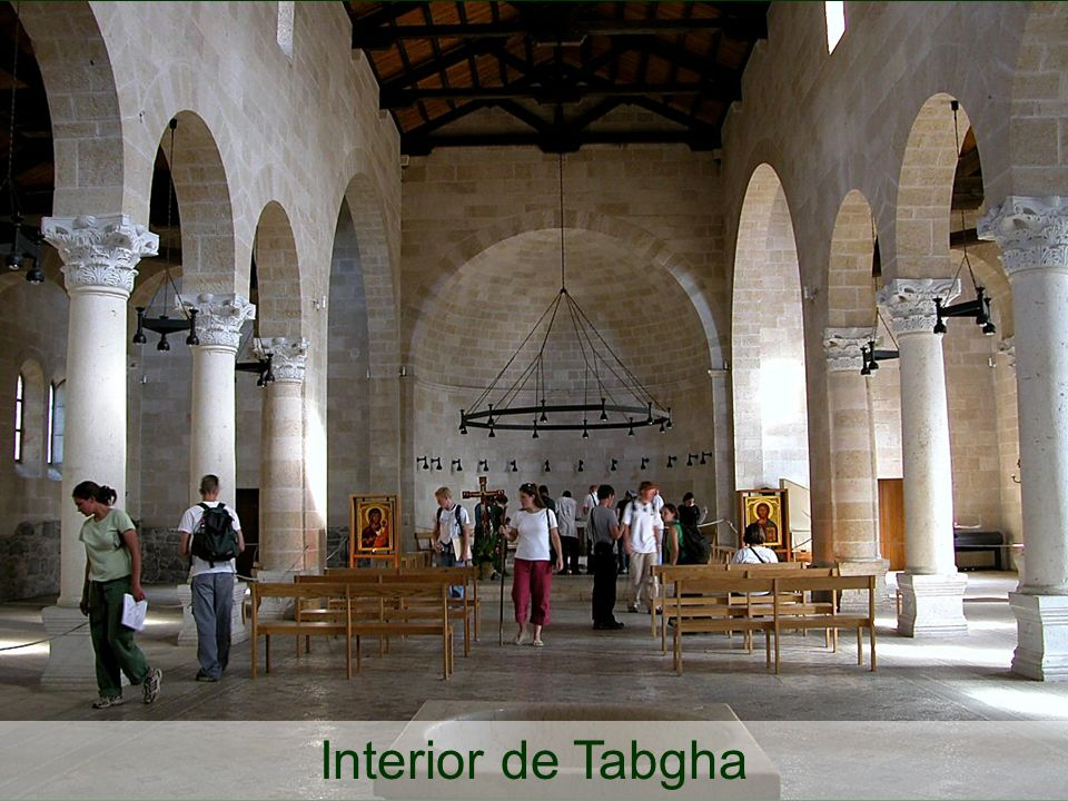 Tabgha Fish and Loaves Church interior