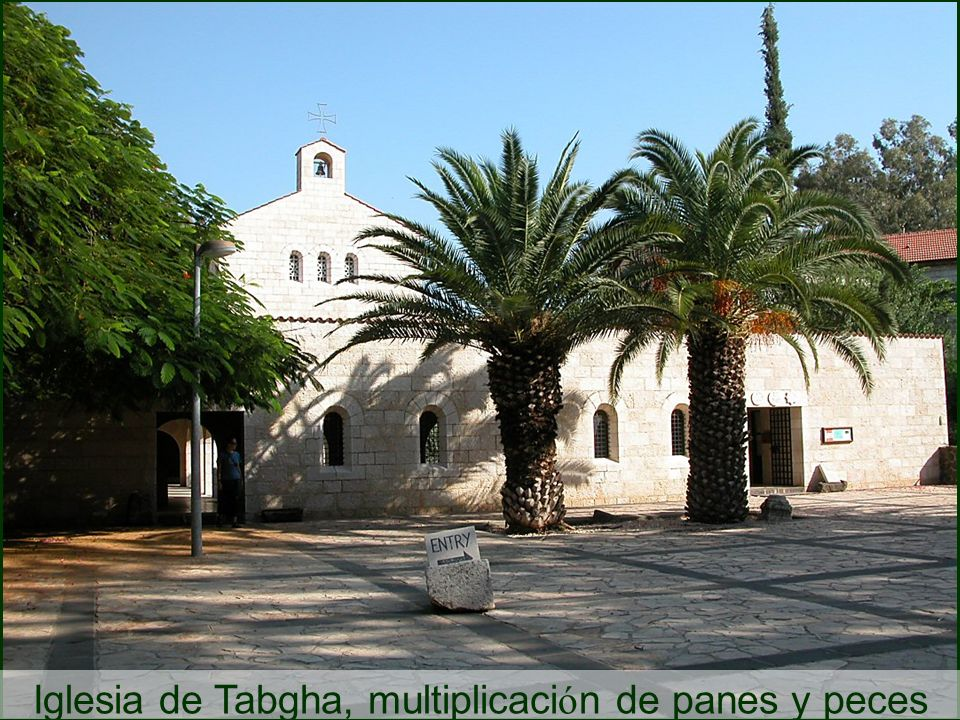Tabgha Fish and Loaves Church