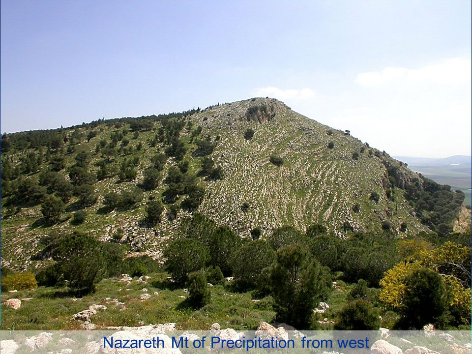 Nazareth Mt of Precipitation from west