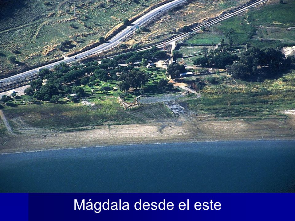 Magdala aerial from east