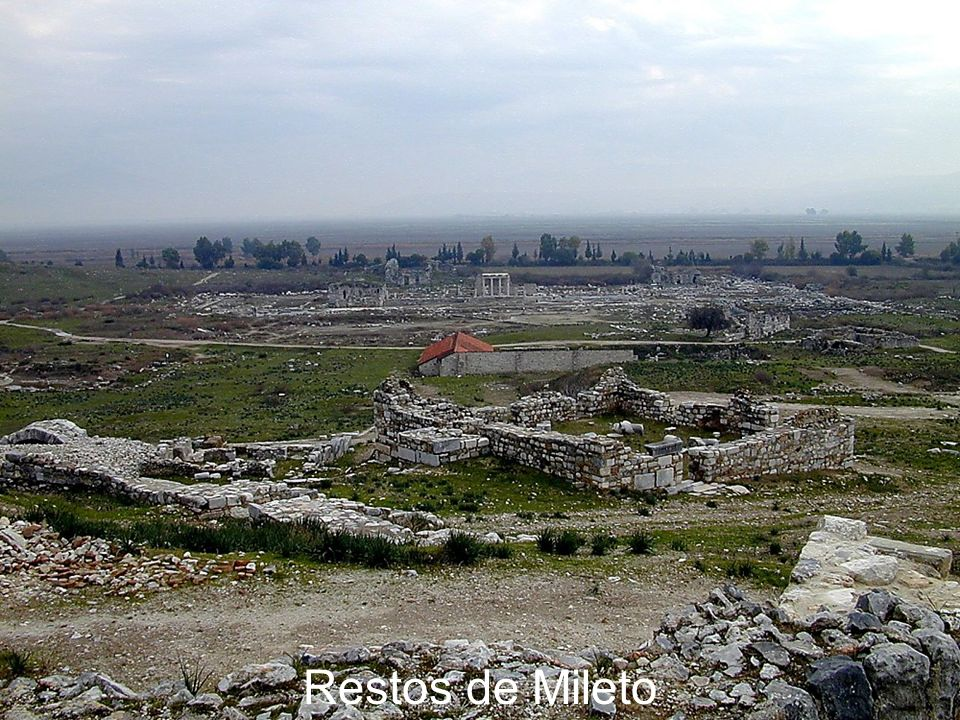Miletus remains from theater