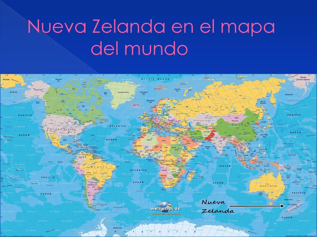 Resultado de imagen de nueva zelanda mapa mundi