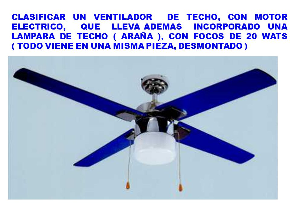 Regla general interpretativa 3 ppt video online descargar - Lampara de techo con ventilador ...