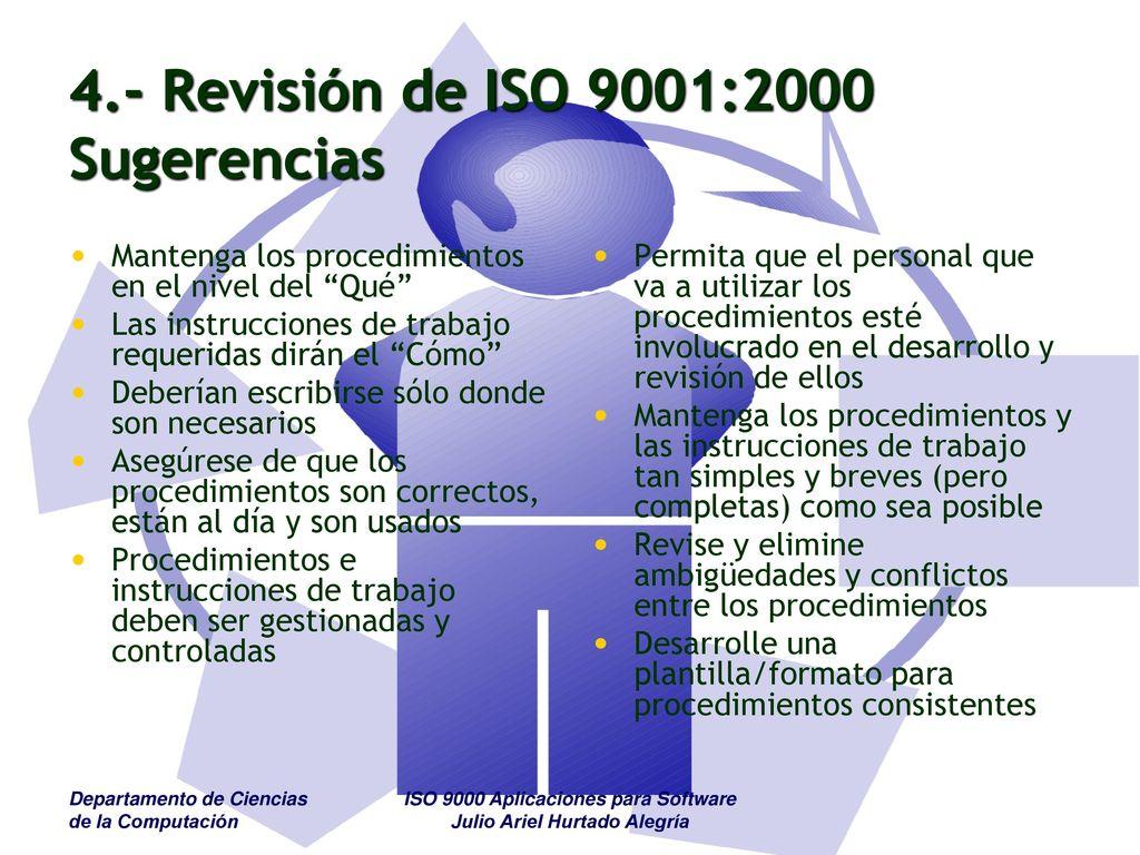 ISO 9000 Aplicaciones para Software - ppt descargar