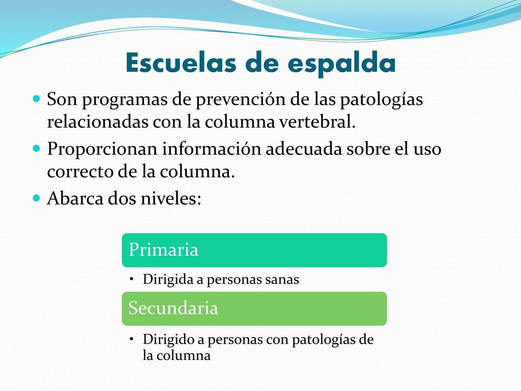 HIGIENE POSTURAL EN LA ETAPA ESCOLAR - ppt descargar b6af29760f88