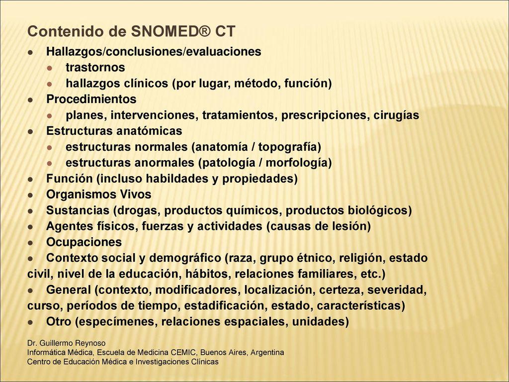 Codificación de la Información Médica - ppt descargar