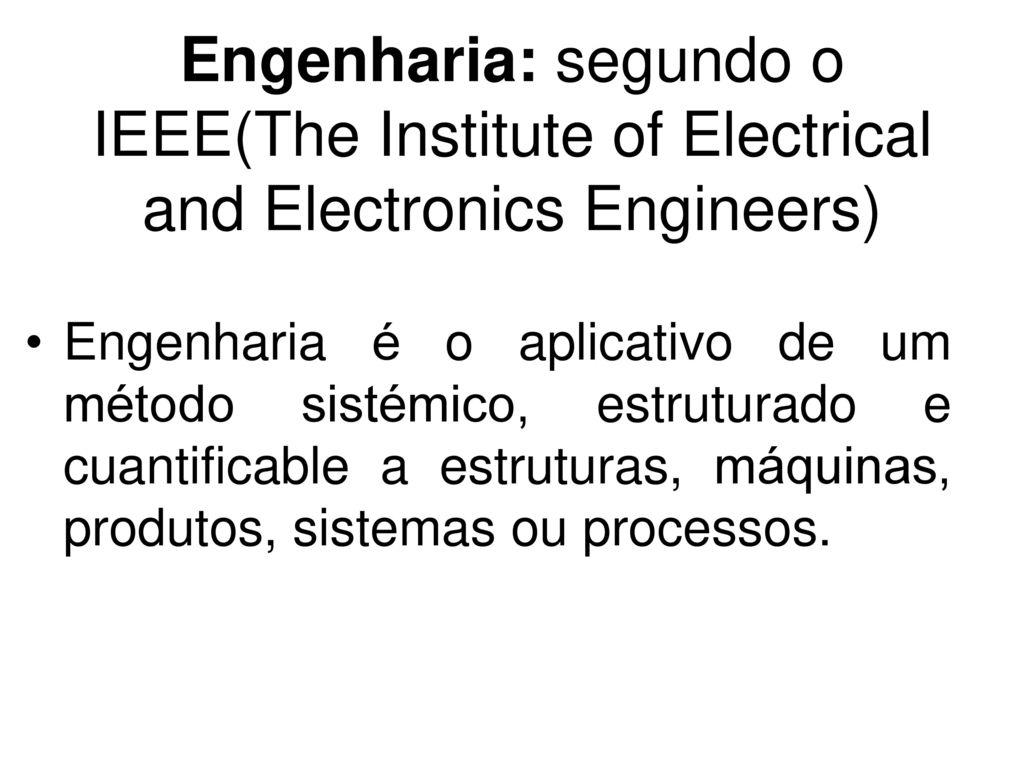 Engenharia de Software I - ppt descargar
