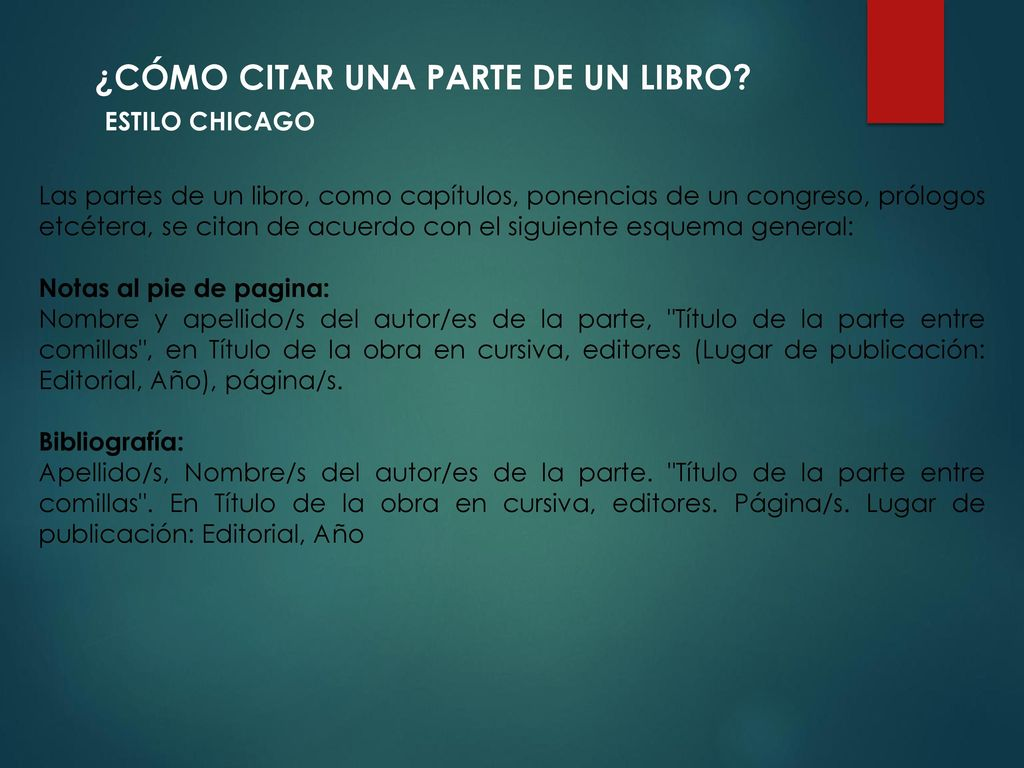 Image Of Tipo De Letra En Normas Chicago Estilo Chicago Turabian ...