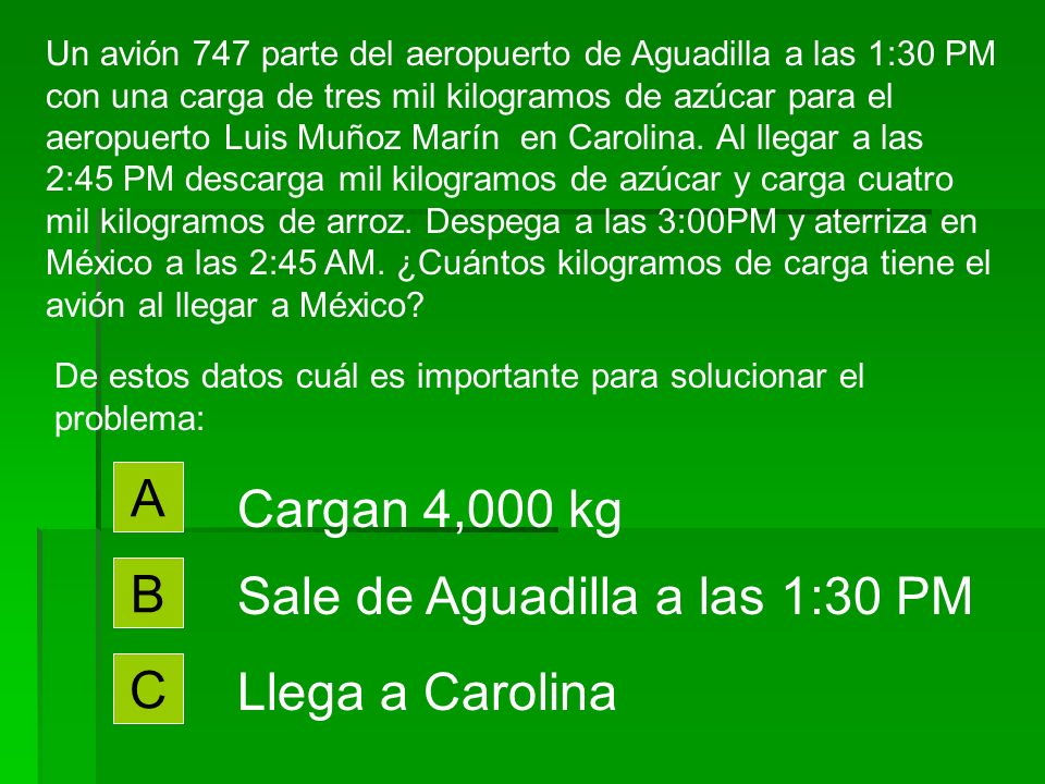 Sale de Aguadilla a las 1:30 PM