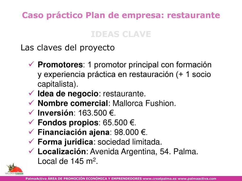 Caso Práctico Plan De Empresa Ppt Descargar