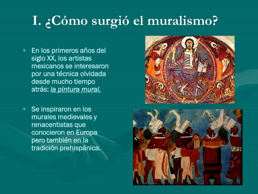 Muralismo Mexicano El Arte Al Servicio De Una Causa Social Ppt