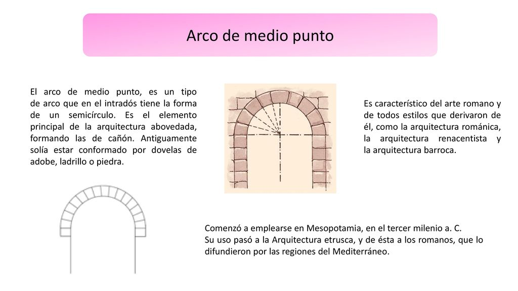 Los Arcos Arco De Medio Punto Arco Lobular Arco De Herradura Ppt Descargar