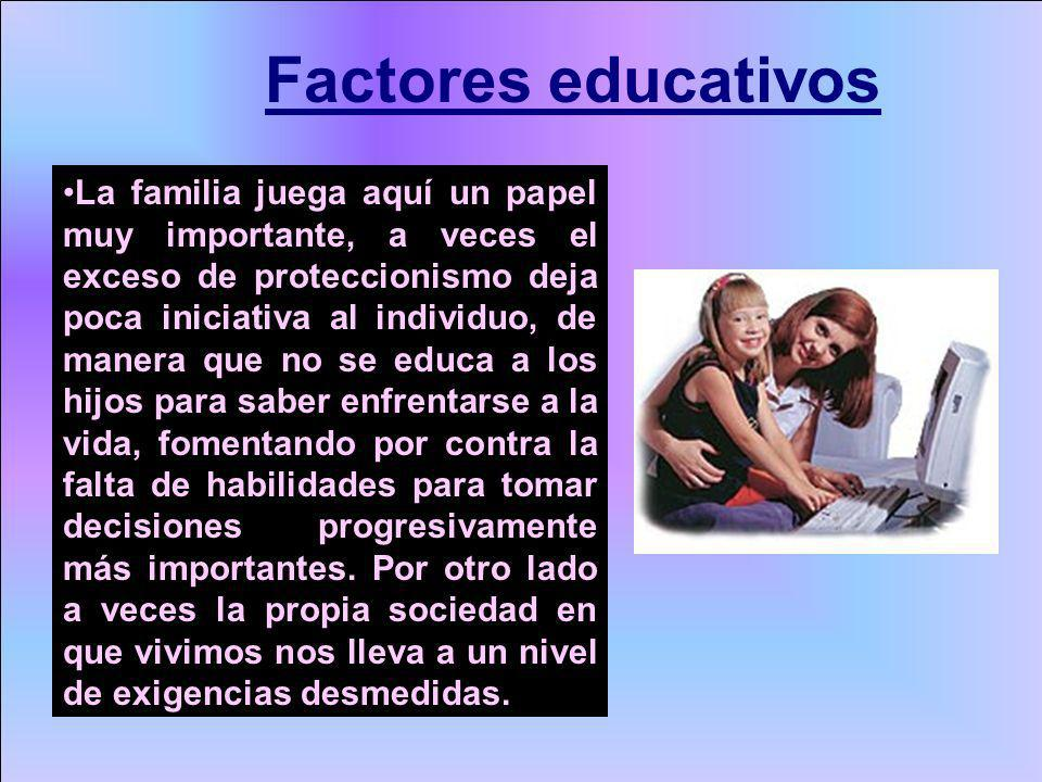 Factores educativos