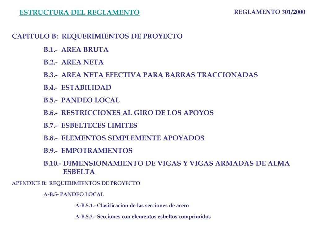 Reglamento 301 2000 Estructura Del Reglamento Ppt Descargar