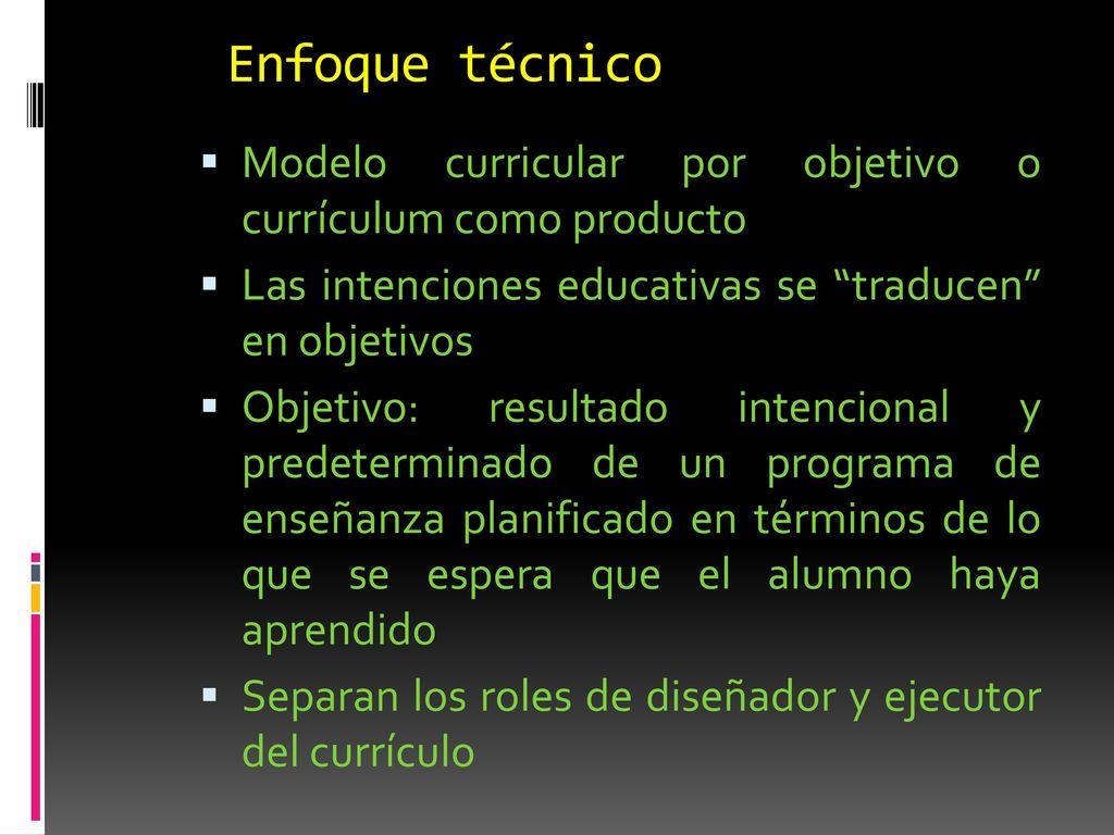 ENFOQUES CURRICULARES: TEORÍA DE LOS INTERESES - ppt descargar