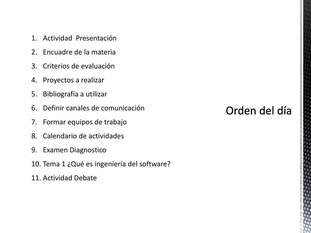 Ingeniería de Software - ppt descargar