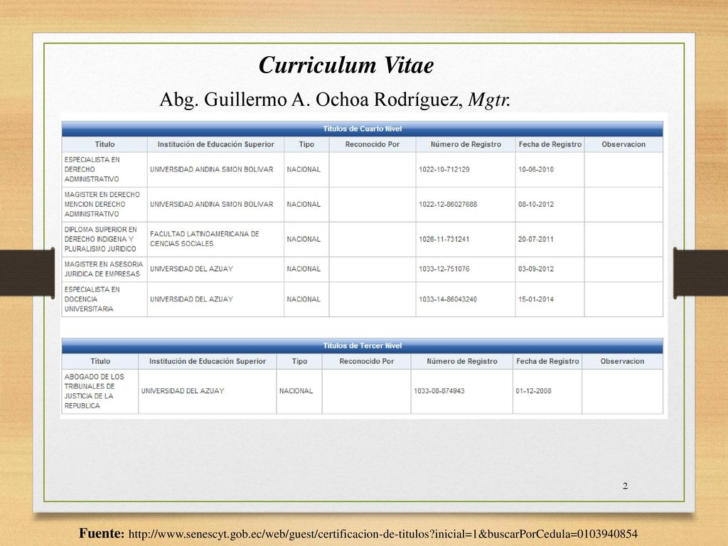Contabilidad Superior Abg. Guillermo A. Ochoa Rodríguez, Mgtr. - ppt ...