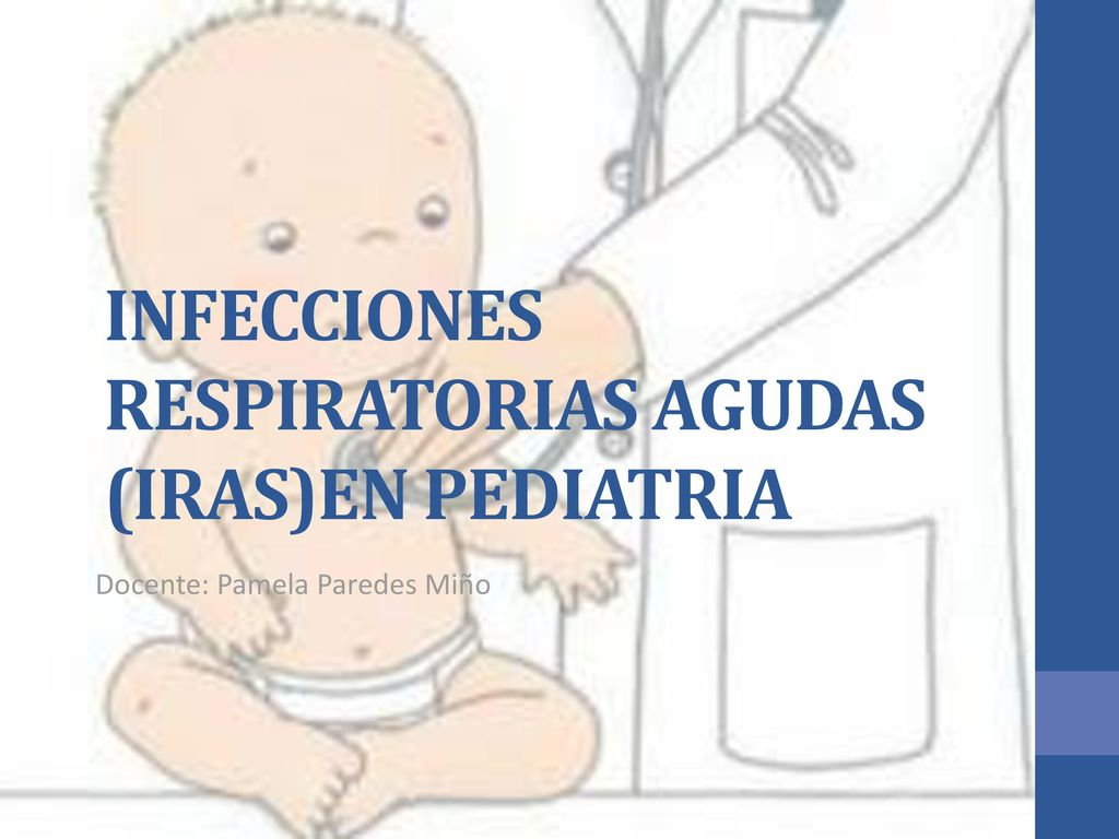 infeccion vias respiratorias bajas pediatria