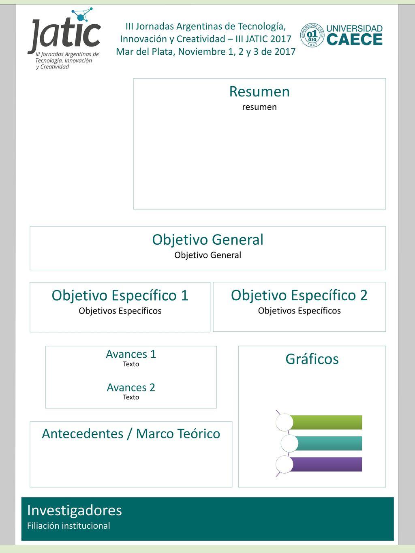 Resumen Objetivo General Objetivo Específico 1 Objetivo Específico 2 ...