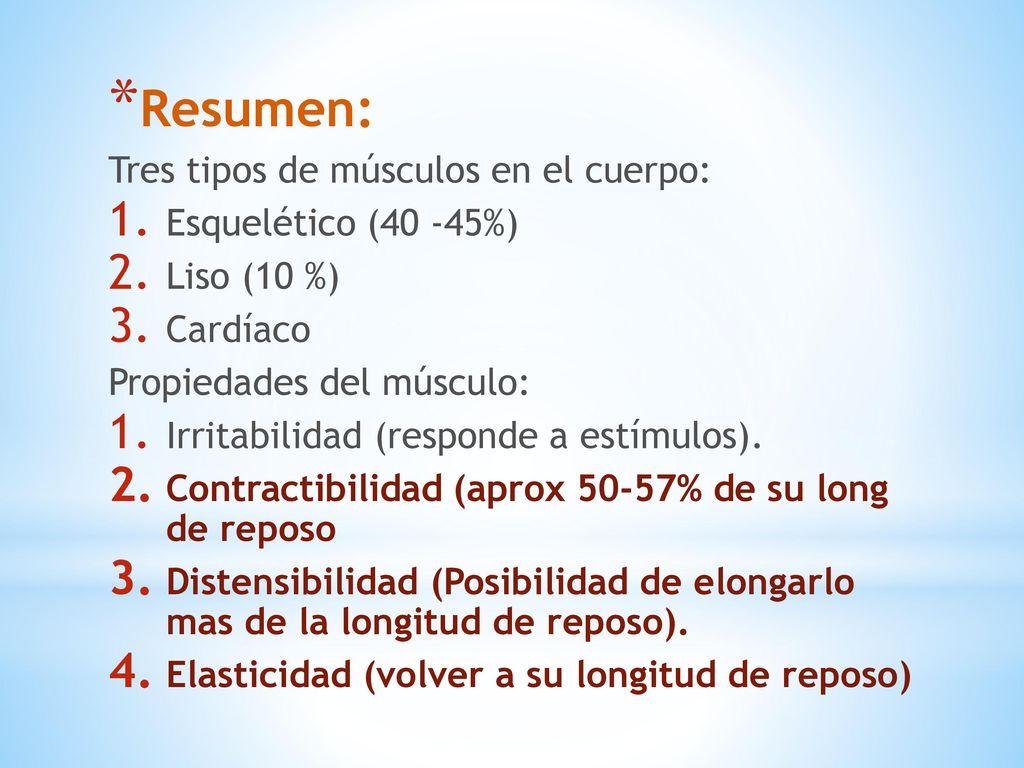 Biomecánica del musculo - ppt descargar