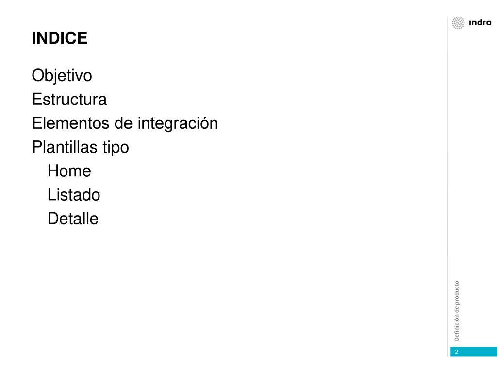 Asombroso Plantilla De índice De Presentación Imagen - Colección De ...