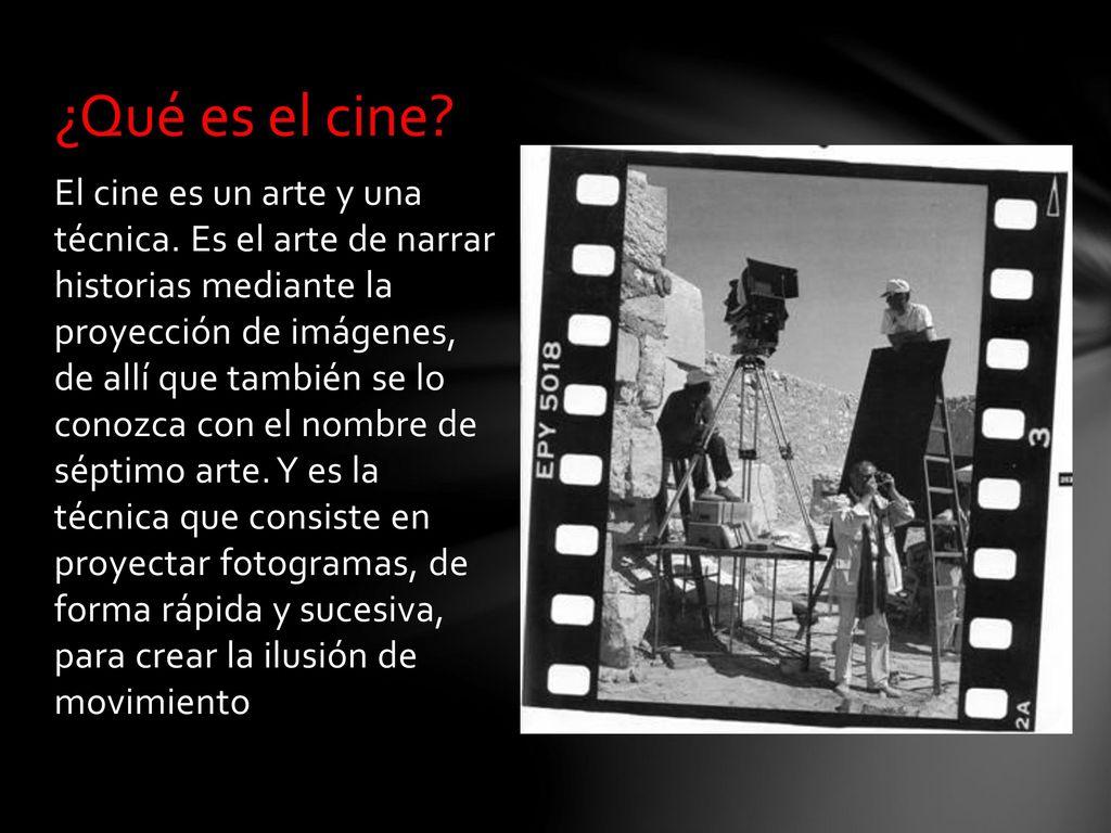 """Historia del cine y Planos Cinematográficos"""" - ppt descargar"""