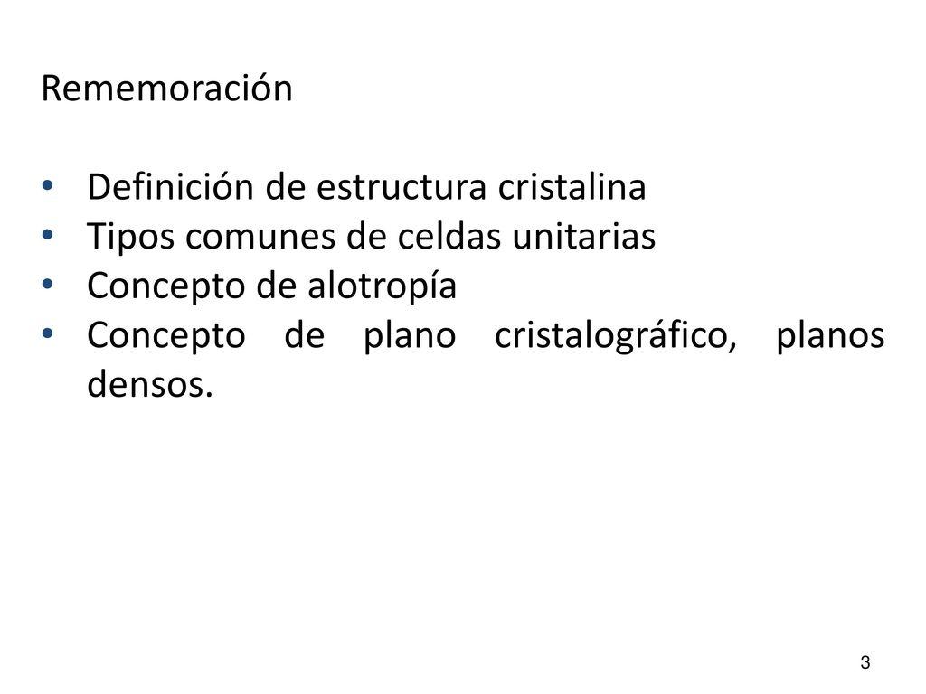 Tema I Estructura De Los Materiales Objetivos Adquirir Los