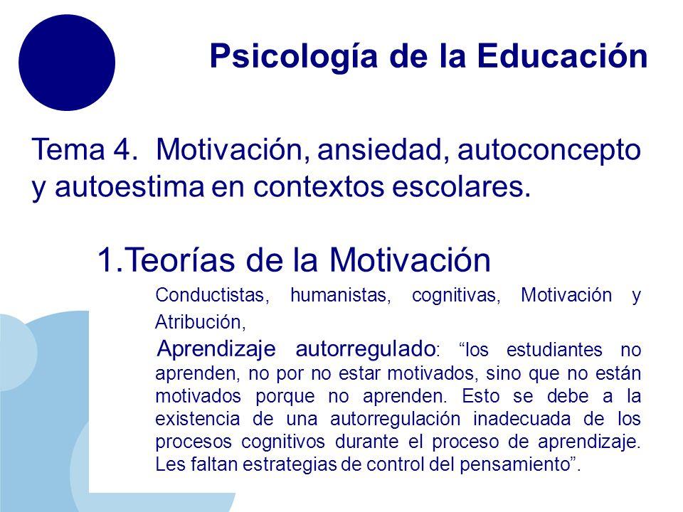 Psicología De La Educación Ppt Descargar