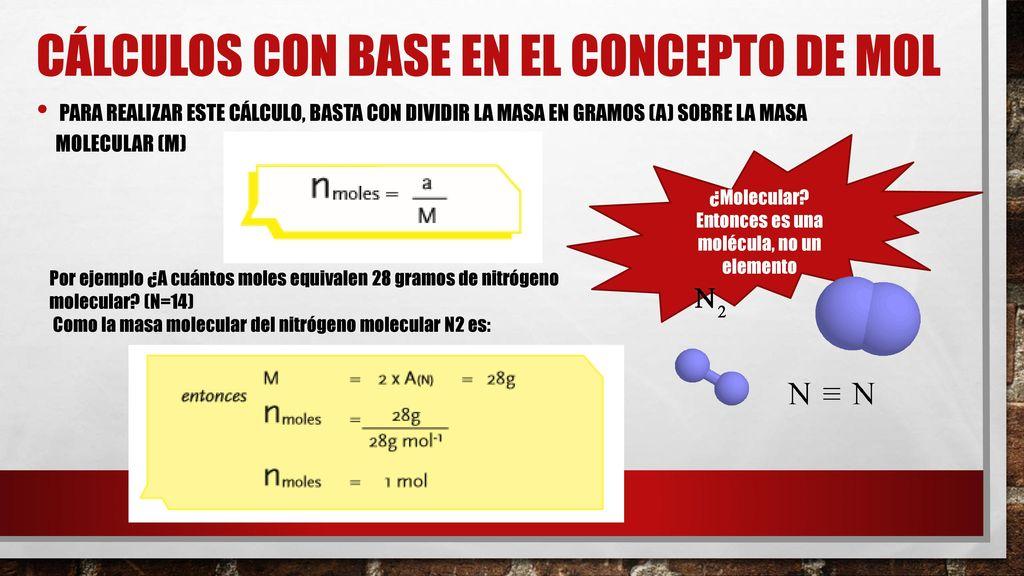 Lujoso Mol Hoja De Cálculo EstequiometrÃa Molar Elaboración - hojas ...