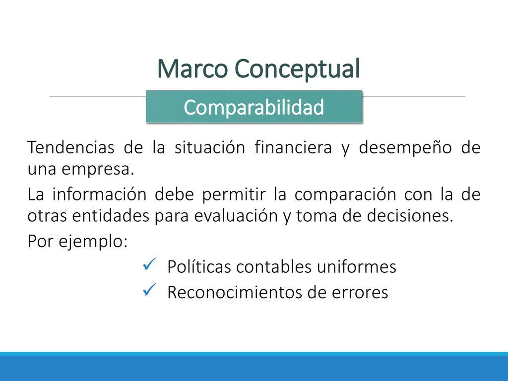 Introducción Y Marco Conceptual De Las Niif Ppt Descargar