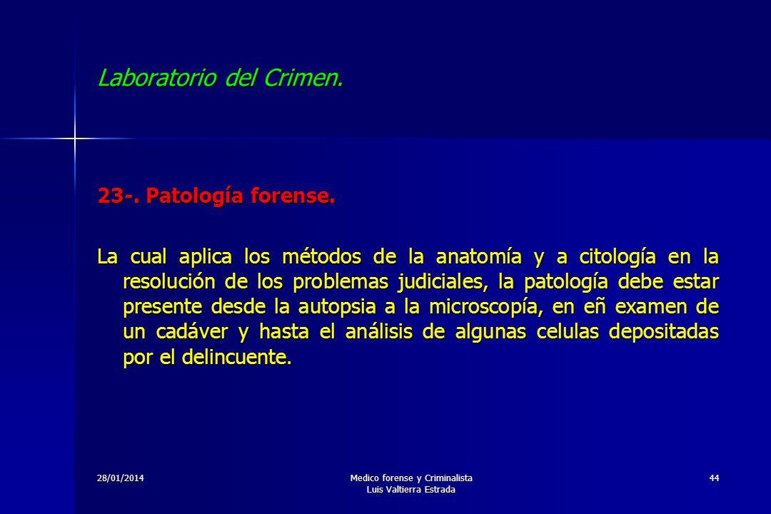 Laboratorio del Crimen. - ppt descargar