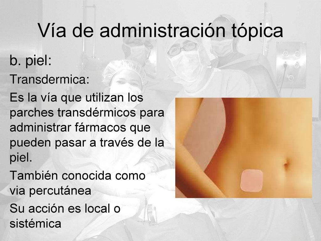 Vías De Administración De Fármacos - ppt descargar 7ca9963e096e