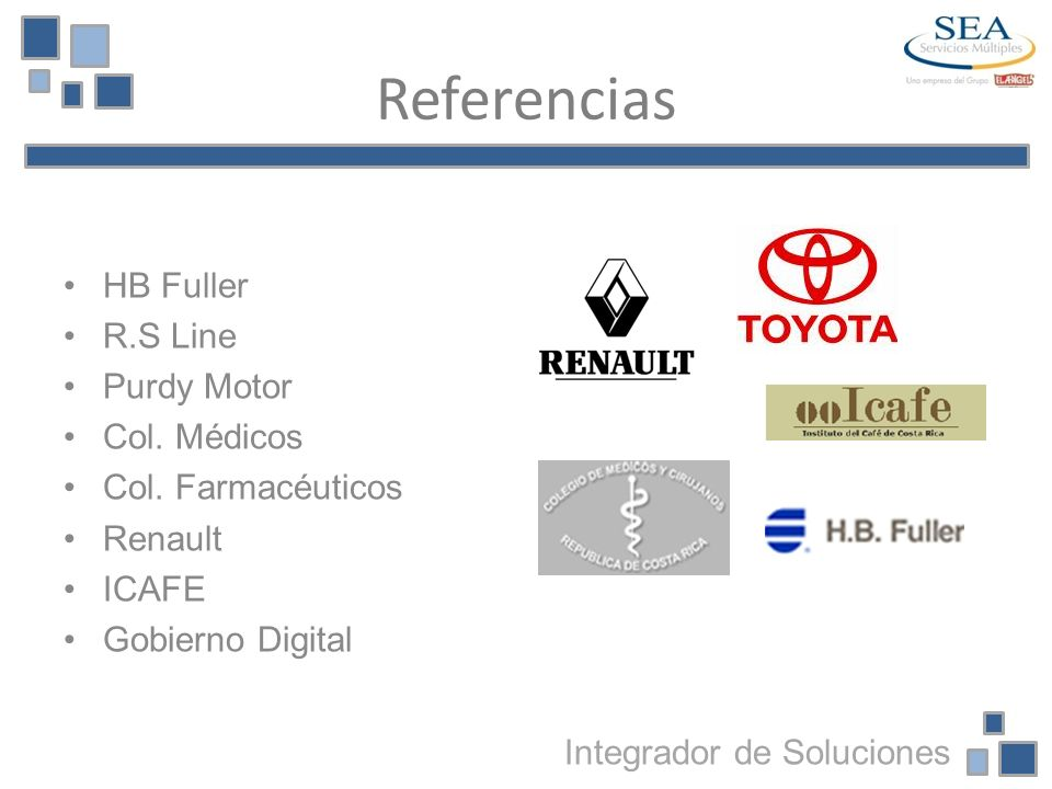 Referencias HB Fuller R.S Line Purdy Motor Col. Médicos