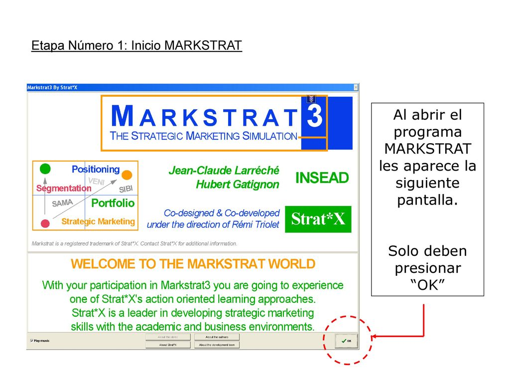 markstrat final report Read the handbook to learn more on the markstrat challenge - your role and your objectives - and on the markstrat world (products, consumers, channels, ) read print read the operating instructions to learn more on how to operate markstrat, browse results, make decisions,.
