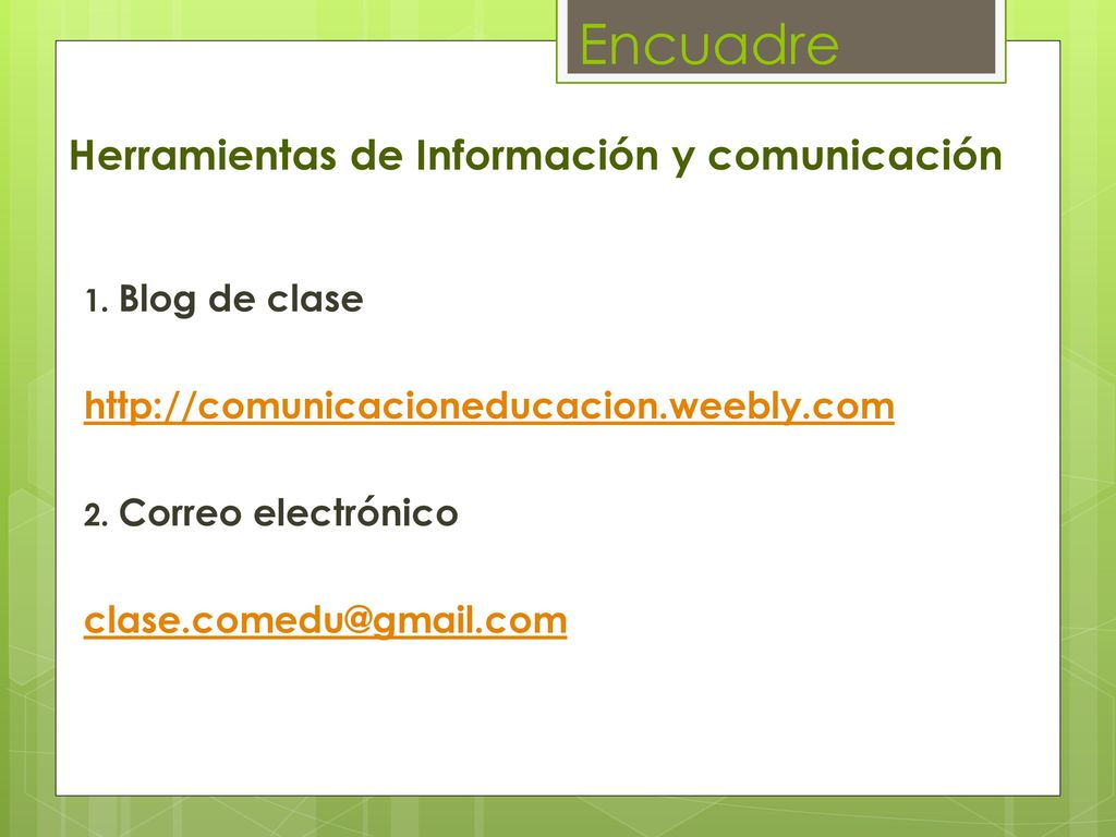 Comunicación y educación - ppt descargar