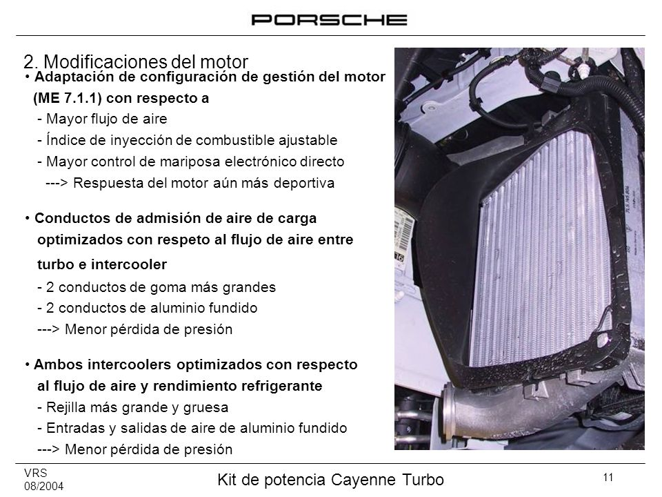 2. Modificaciones del motor
