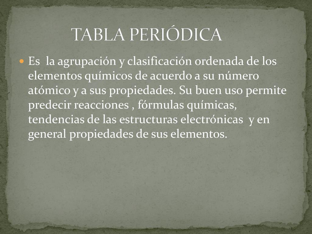 Tabla peridica es la agrupacin y clasificacin ordenada de los 1 tabla peridica es la agrupacin y clasificacin ordenada de los elementos qumicos urtaz Choice Image