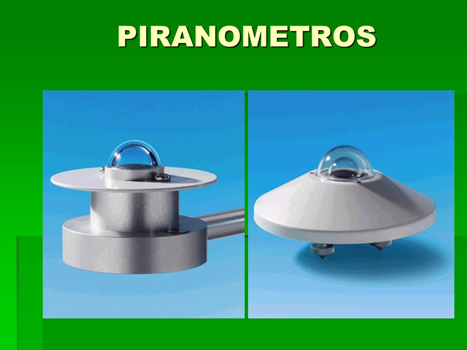 PIRANOMETROS