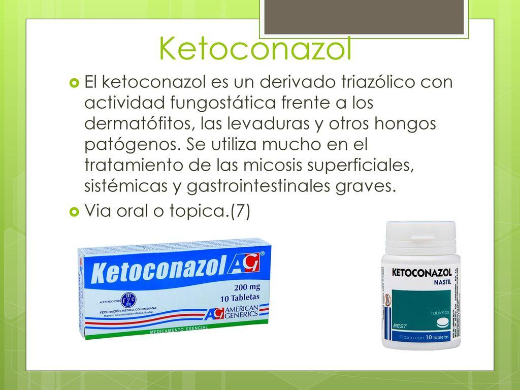 para que sirve ketoconazol nastil tabletas