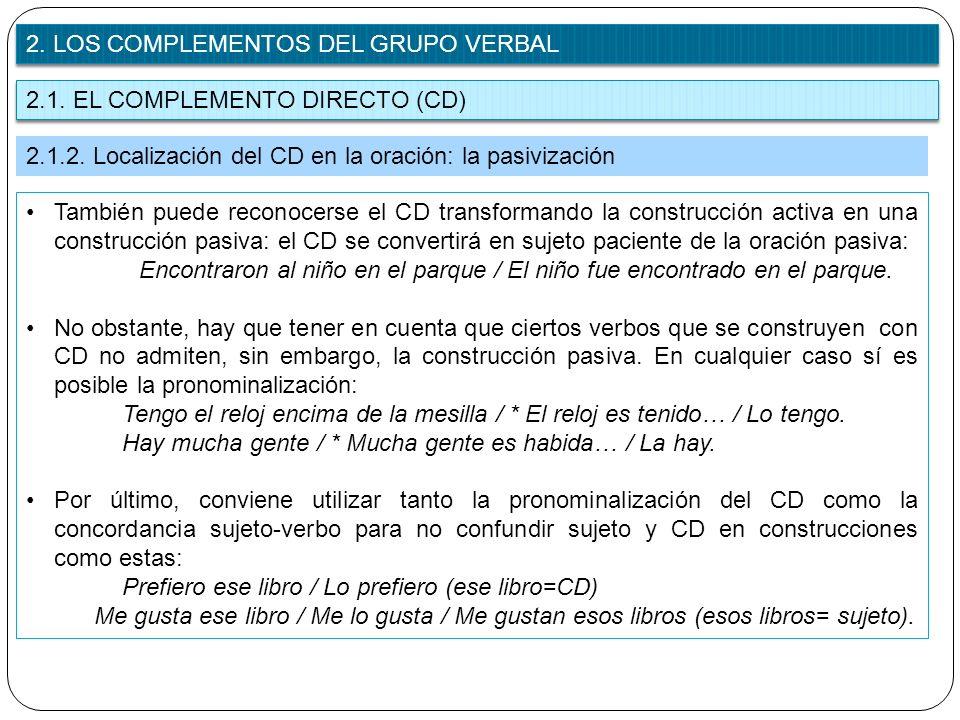 807189f272d9 UNIDAD 8: EL GRUPO VERBAL. ANÁLISIS DEL PREDICADO - ppt descargar