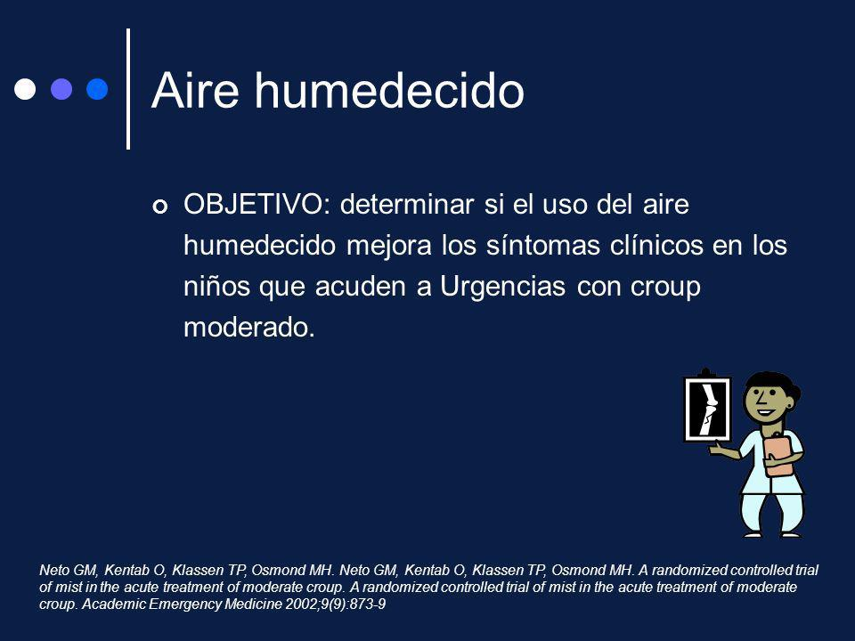 Aire humedecido