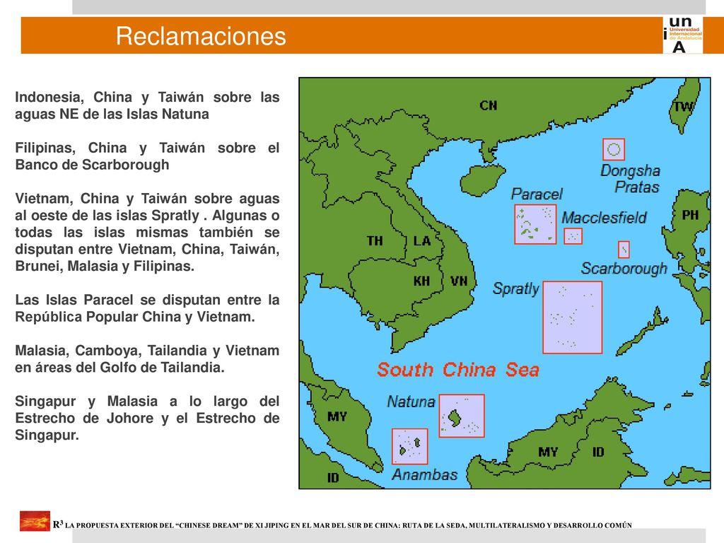Resultado de imagen para islas Spratly y Paracel.