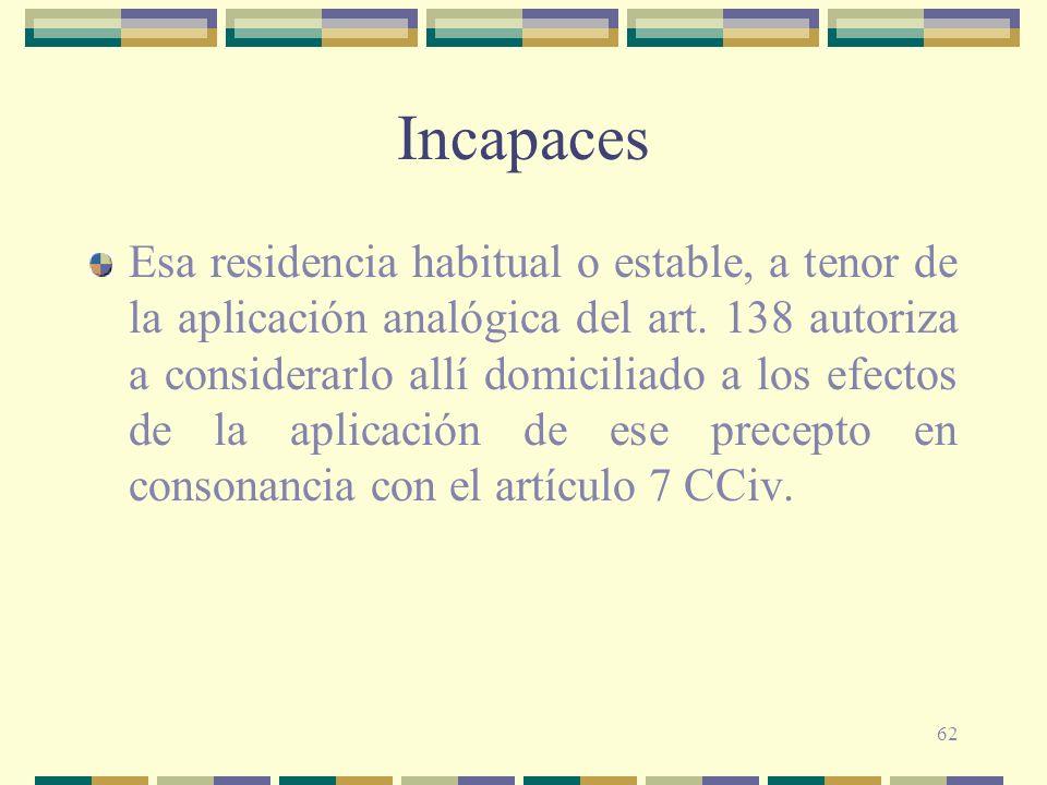 Incapaces