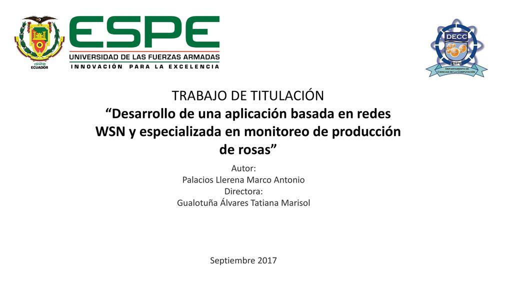"""TRABAJO DE TITULACIÓN """"Desarrollo de una aplicación basada en redes ..."""