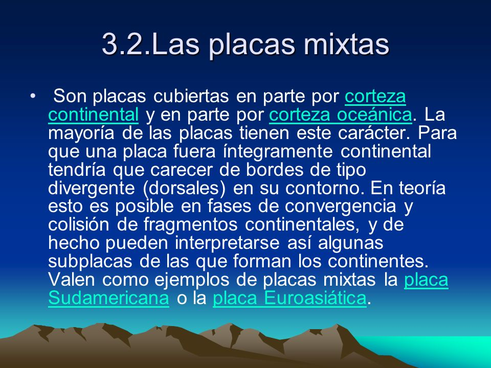 3.2.Las placas mixtas