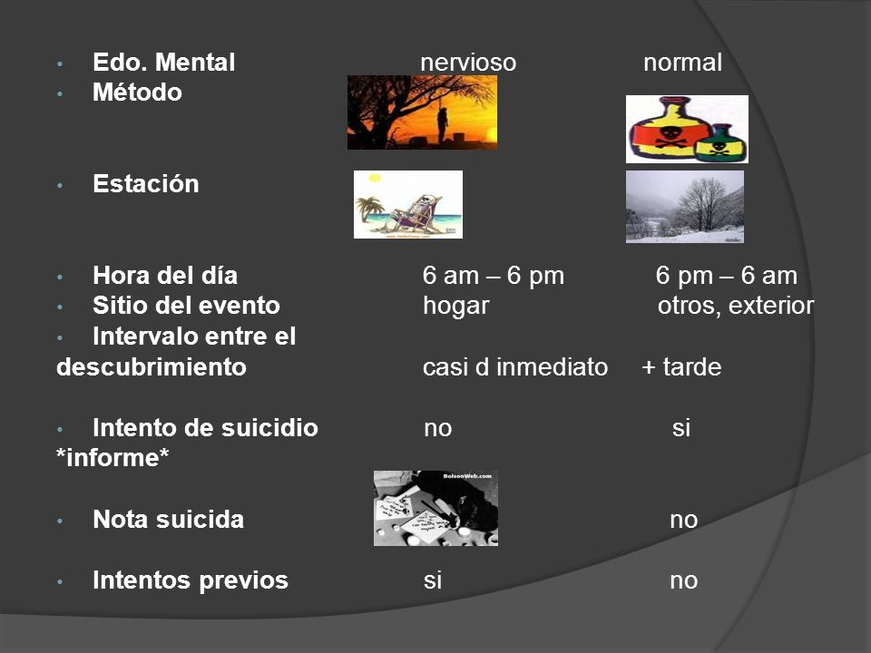 Edo. Mental nervioso normal